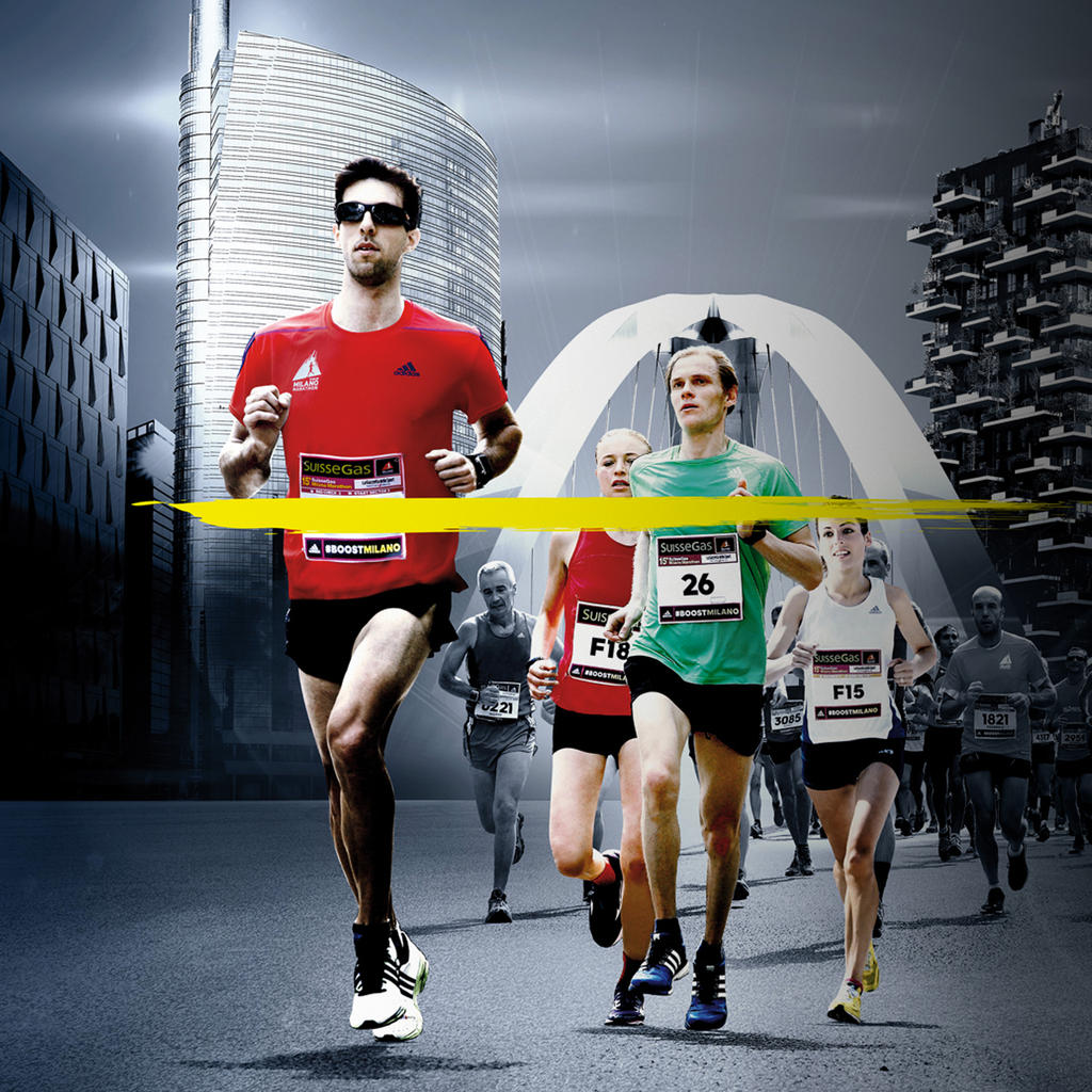 The 16th edition of the Milan Marathon
