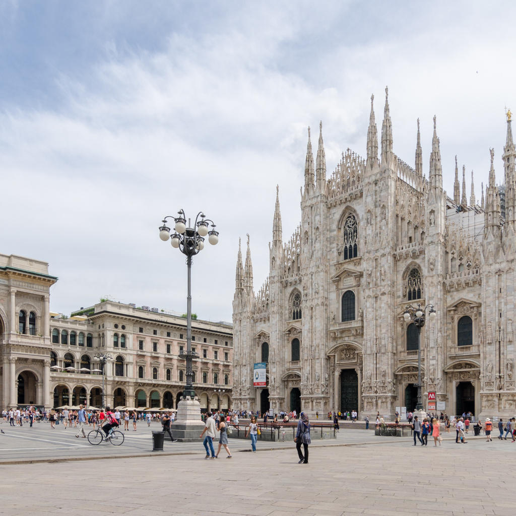 The Duomo: Milan would not be Milan without its cathedral.