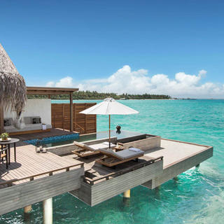 Luxury on water at the Fairmont Maldives Sirru Fen Fushi