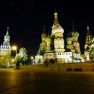 Night cap in... Moscow