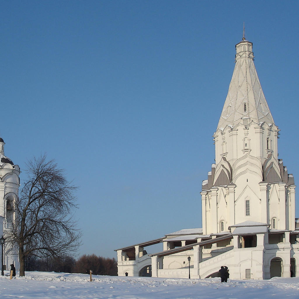 Soaring religious architecture at the Imperial Estate of Kolomenskoye