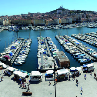 Marseille's old port, the city's emblem