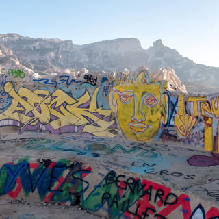 Street art stars in the heart of Marseille