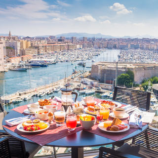 Sofitel Marseille Vieux-Port, on the city's rooftop