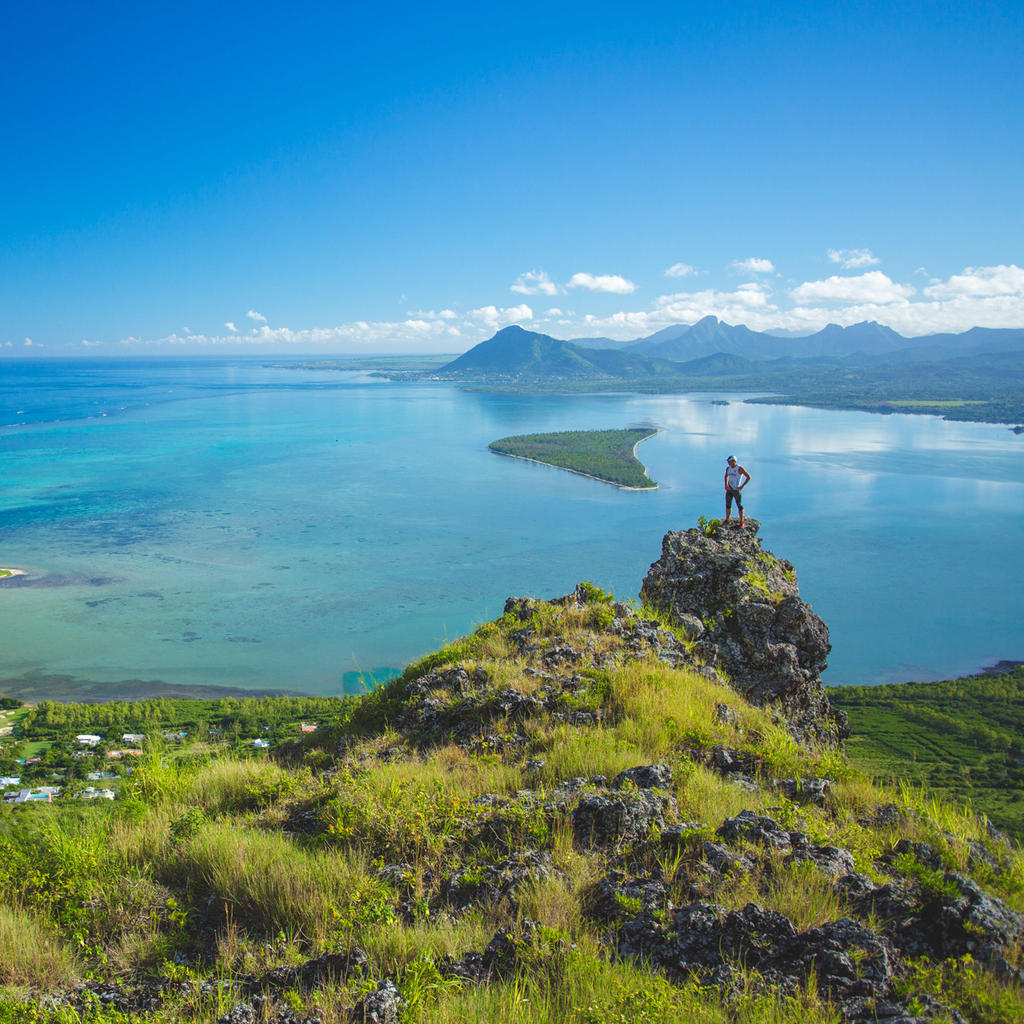 A hike on Le Morne and Pouce