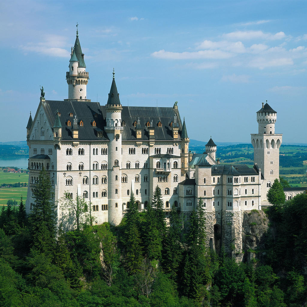 Wagner's score at Neuschwanstein Castle