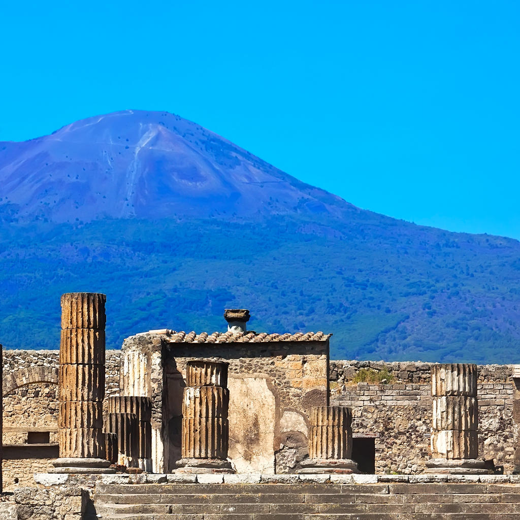 Vesuvius National Park: Enter the scene