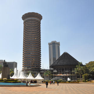 Kenyatta International Conference Centre, Nairobi's first skyscraper
