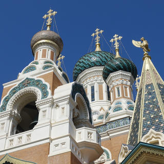 St. Nicholas Cathedral: like a stone tsarina on holiday