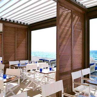 Le Galet, a seaside restaurant