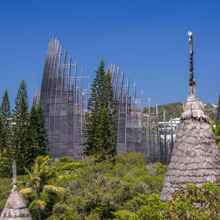 Explore the iconic Tjibaou Cultural Centre