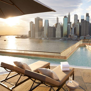 Luxury, comfort and horizon at 1 Hotel Brooklyn Bridge