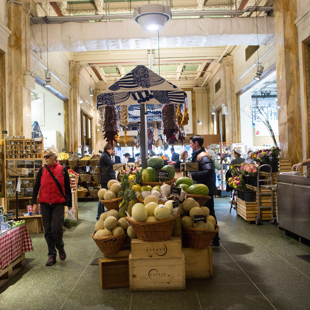 Eataly: restaurant, bar, caterer and gourmet market