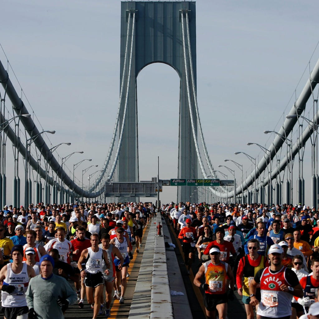 The mythical New York City Marathon