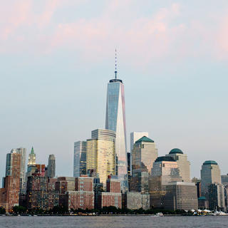 One World Trade Center: 381 metres up in the air