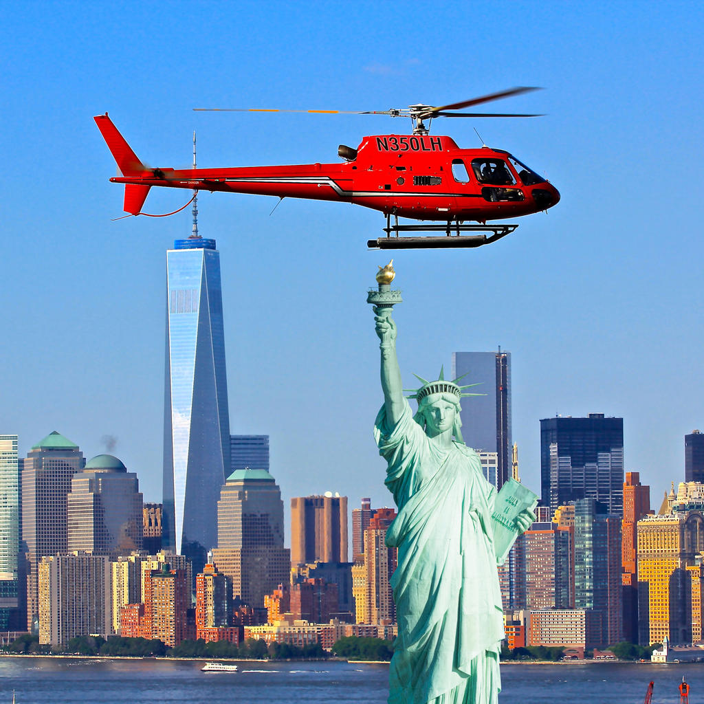 Discover New York City from above, on a helicopter tour