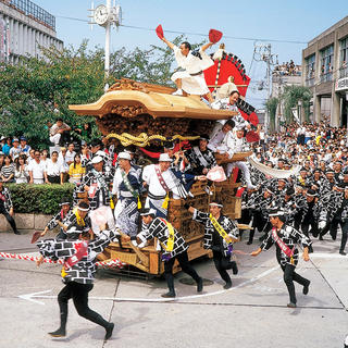 Kishiwada Danjiri Matsuri: the tour of the carts