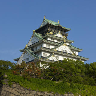 The castle at the summit of Osaka history