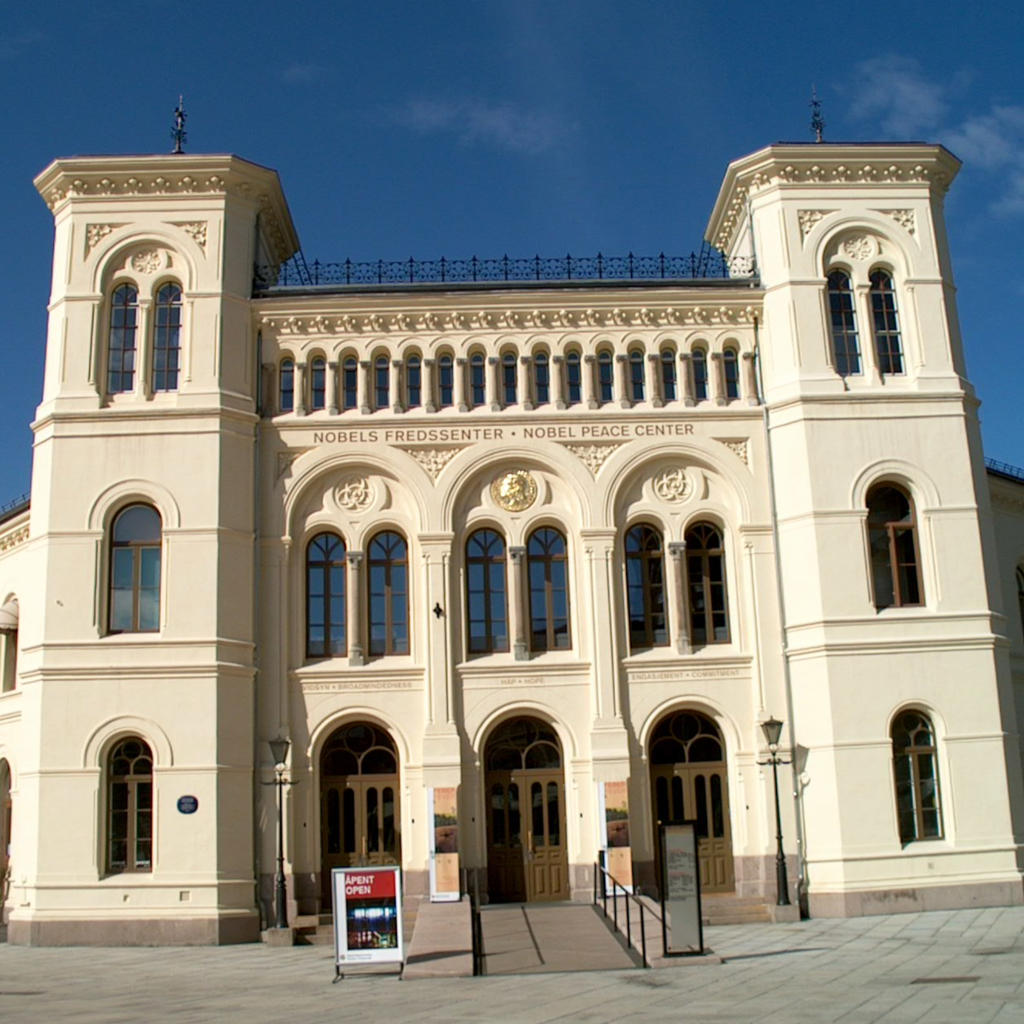 The Nobel Peace Centre: an historical journey.