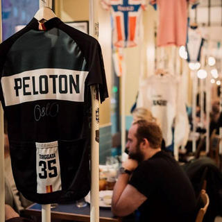 Peloton, a sporty kind of café