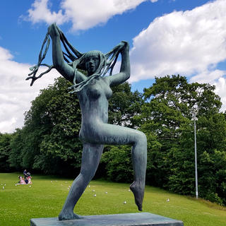Vigeland, the largest sculpture park in the world by one artist