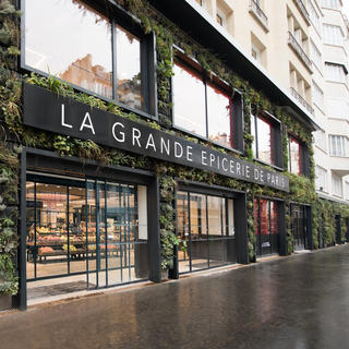 High-end tasting at La Grande Épicerie on the right bank