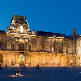 The Louvre in all its states