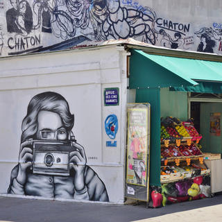 Street art walking tour in Paris's 13th arrondissement