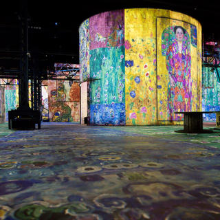 Delve into art at the Atelier des Lumières