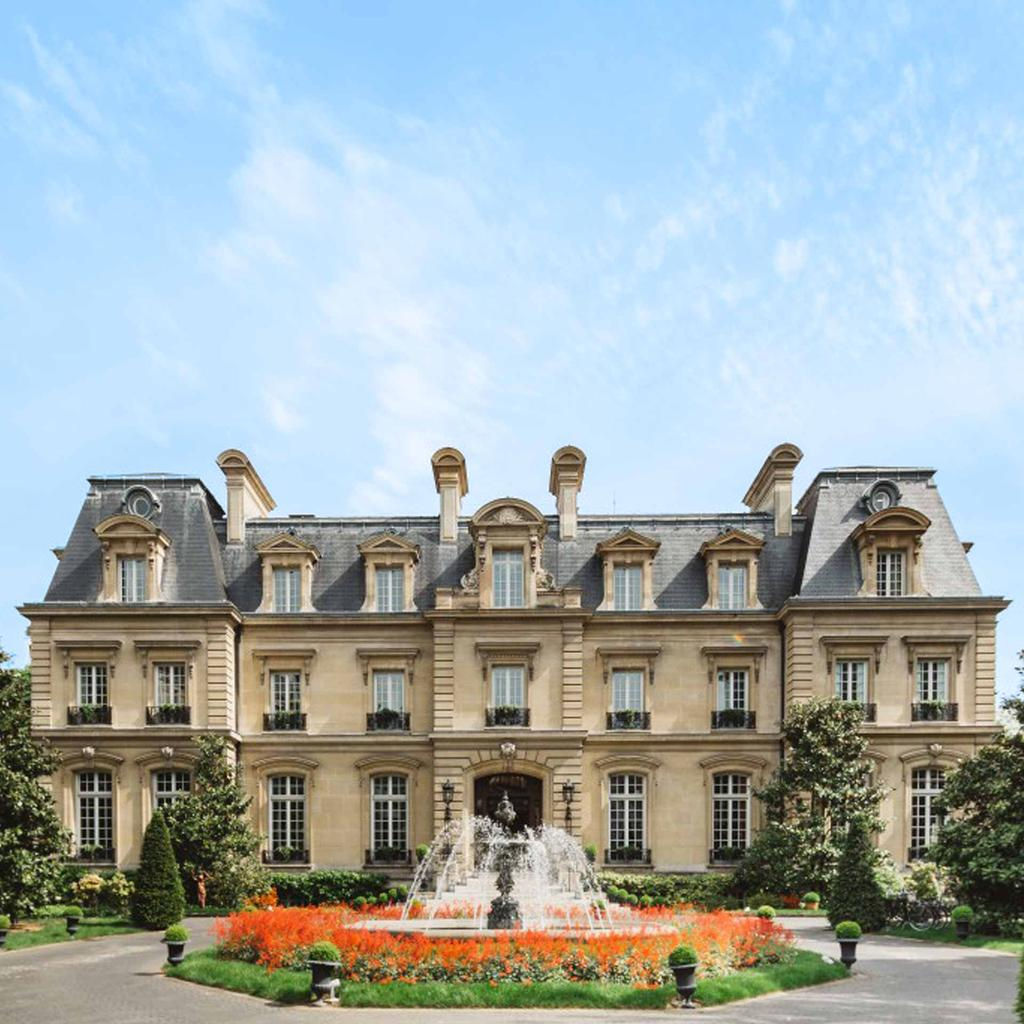 Saint James Paris, romantic hideaway built in the 19th century
