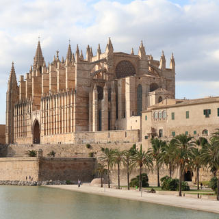 The cathedral, colossus of Palma