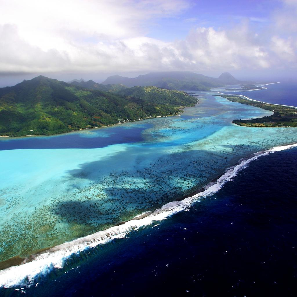 Huahine, an open-air memory