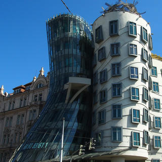 The Dancing House enchants Prague
