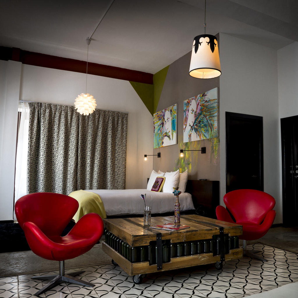 Tántalo Hotel : let go with its bohemian atmosphere