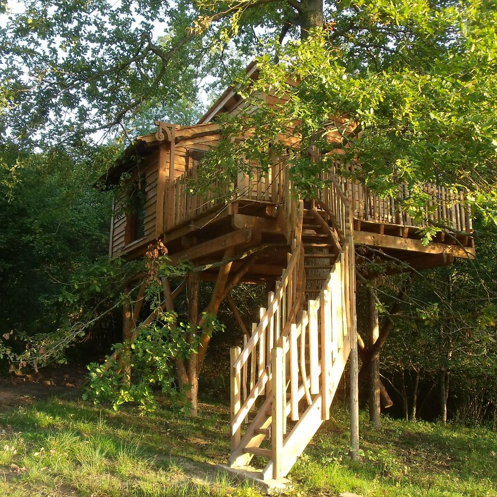 La Cabane du Haut Claberot: a nest among the birds
