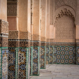 The madrasa, marvel of Arab and Andalusian architecture