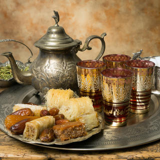 Moroccan pastries: very sugary temptations