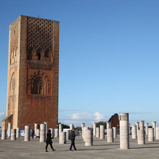 Hassan Tower: a protective figurehead