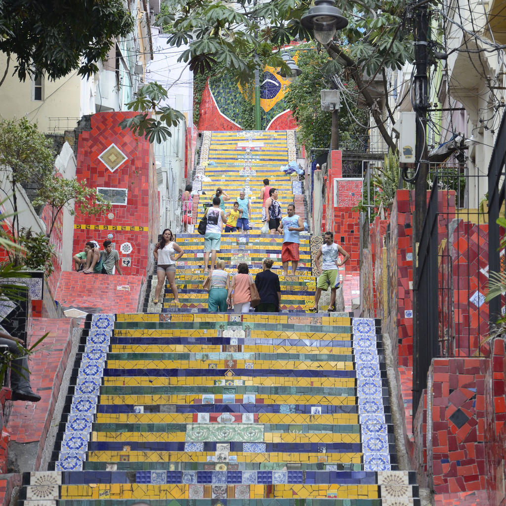 The public art of Escadaria Selarón