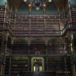 The Real Gabinete Português de Leitura Library, an architectural treasure
