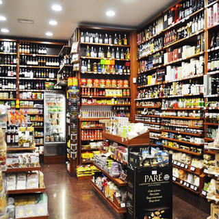 Castroni, enjoy traditional groceries or a coffee