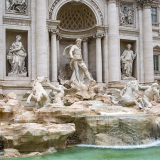 La Fontaine de Trevi, source de la ville