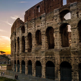 The Coliseum: emblematic presence of the Roman landscape