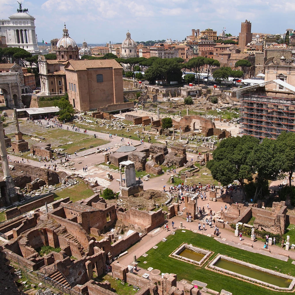 The Roman Forum: the spectacle of the Republic