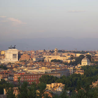 Janiculum, Rome from above