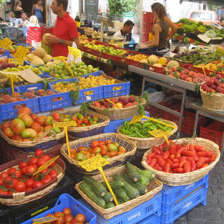 Testaccio Market, a taste of nature in the capital