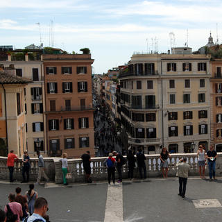 The Spanish Steps: meeting place for romantic dates