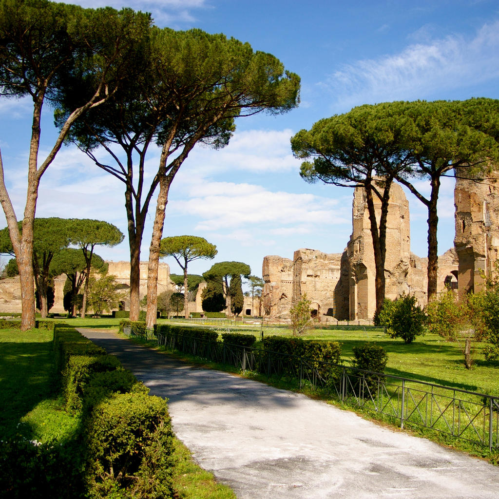 The Baths of Caracalla: ancient Rome's most beautiful bath complex