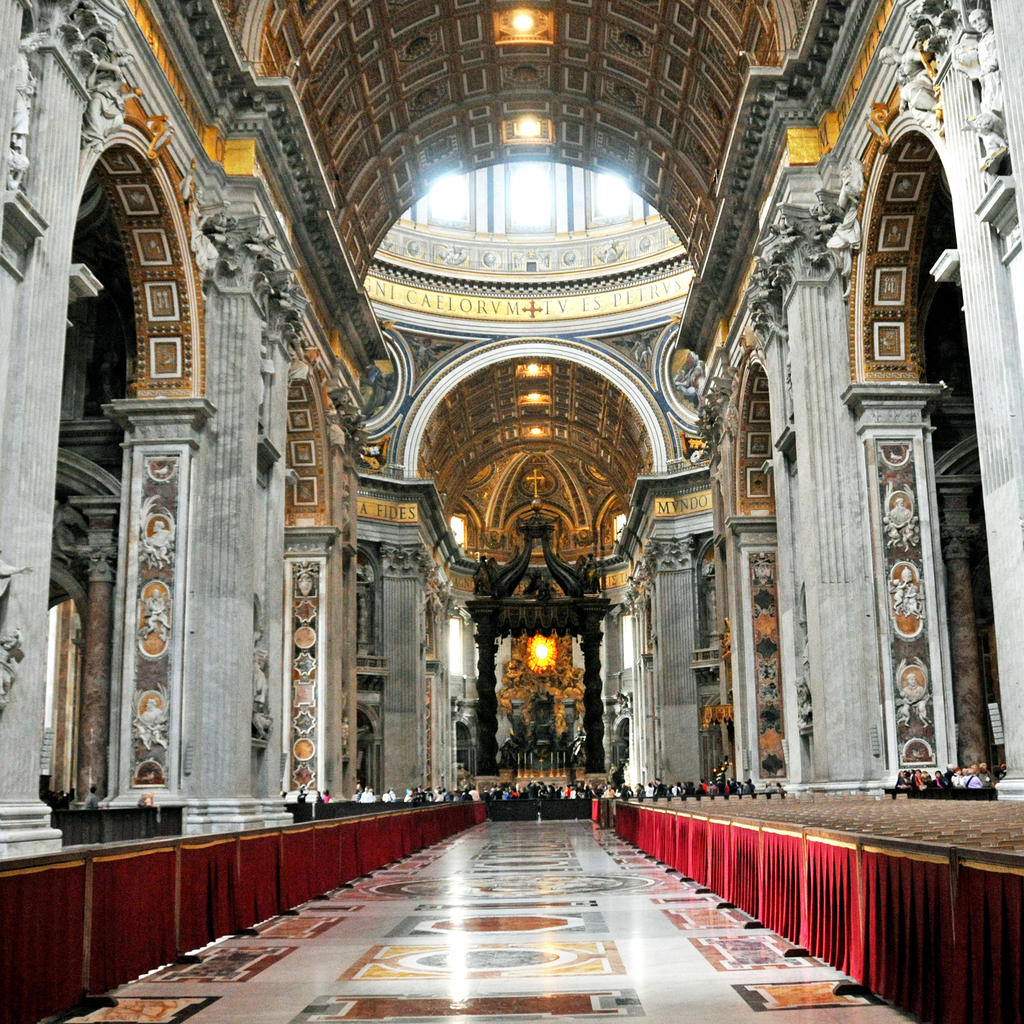 The Vatican and St. Peter's Basilica: divine beauty