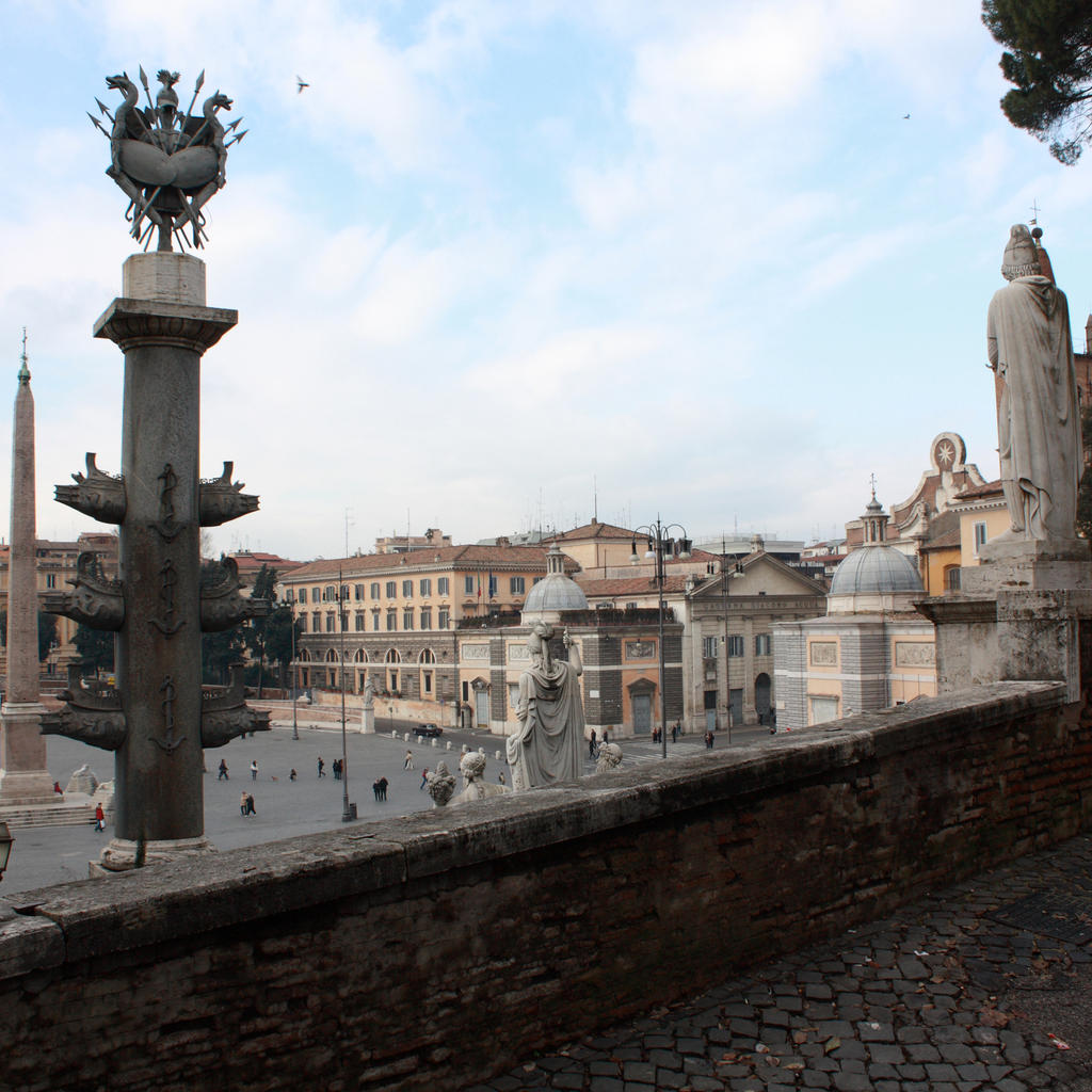Piazza del Popolo: the spectacle of the centuries